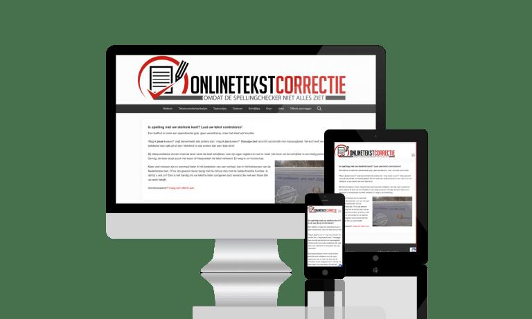 Online tekstcorrectie